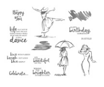 BEAUTIFUL YOU CLEAR-MOUNT STAMP SET Price: $28.00